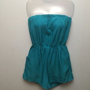Forever 21 Strapless Romper Size Small